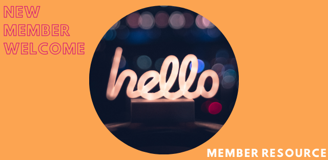 New Member Welcome & Open Networking