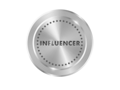 Influencer Badge & Plaque